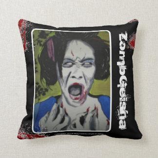 'ZombGeisha' (Throw) American MoJo Pillow