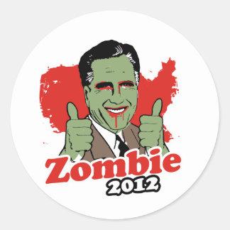Zombi 2012.png pegatina redonda