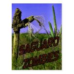 Zombi 2 de los zombis del Saguaro Postales