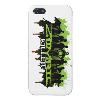 Zombi-asesino del caso iphone5 iPhone 5 fundas