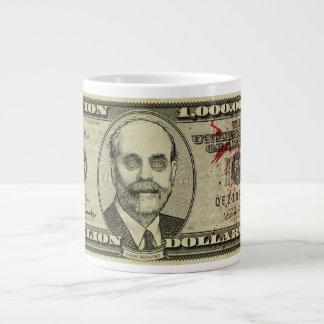 Zombi Bernanke mil millones tazas del jumbo de la  Taza Jumbo