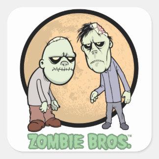Zombi Bros. pegatina