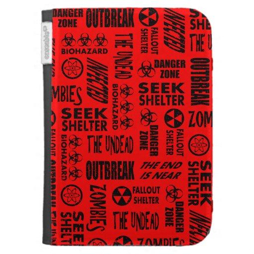 Zombi, brote, Undead, negro del Biohazard y rojo