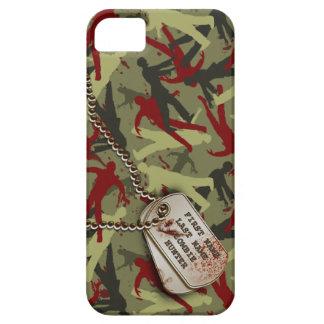 Zombi Camo con las placas de identificación Funda Para iPhone SE/5/5s