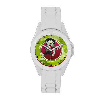 Zombi; camo verde claro, camuflaje reloj