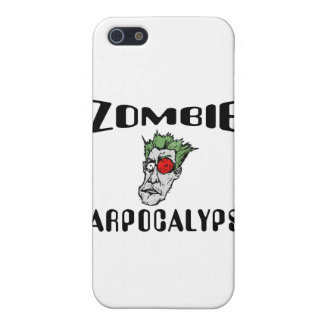 Zombi Carpocalypse iPhone 5 Funda