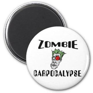 Zombi Carpocalypse Imán Redondo 5 Cm