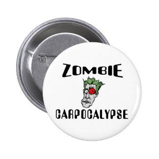 Zombi Carpocalypse Pins
