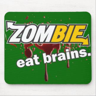 ¡Zombi! ¡Coma los cerebros! Alfombrillas De Ratones