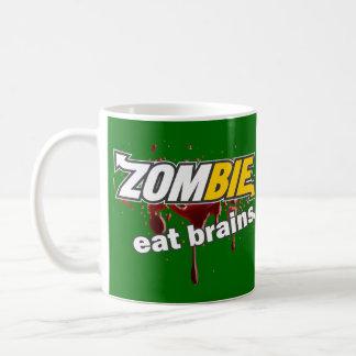 ¡Zombi! ¡Coma los cerebros! Taza De Café