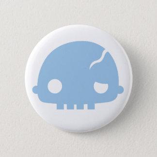 Zombi Couple Boy Pinback Button