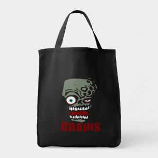 Zombi de los cerebros bolsa tela para la compra