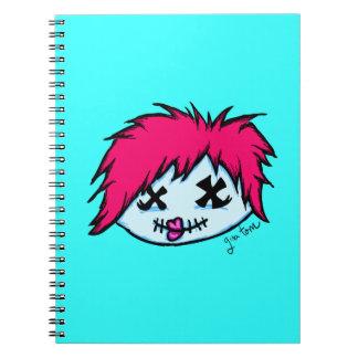 Zombi de moda cuadernos