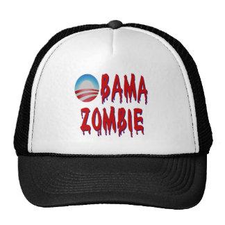 Zombi de Obama Gorros Bordados