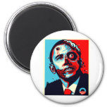 zombi de obama imán redondo 5 cm