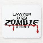 Zombi del abogado tapete de ratón