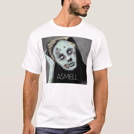zombi del asmell playera