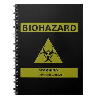 Zombi del Biohazard Cuadernos