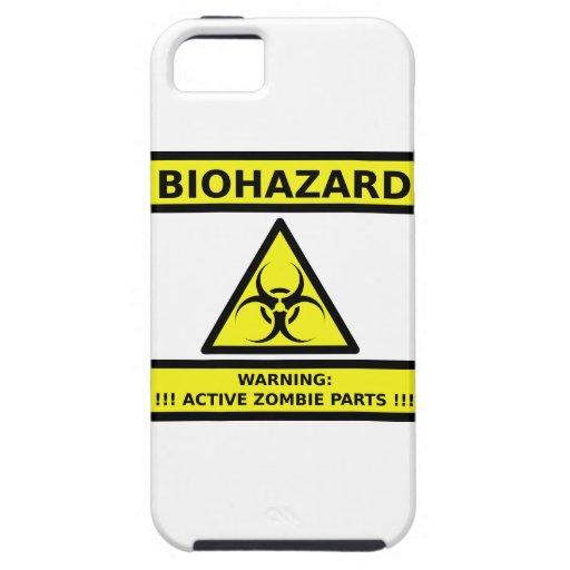 Zombi del Biohazard iPhone 5 Case-Mate Funda