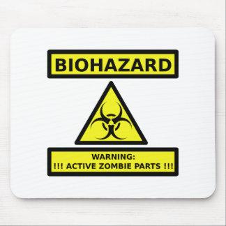 Zombi del Biohazard Tapete De Raton