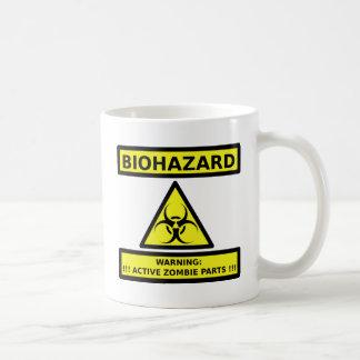 Zombi del Biohazard Taza