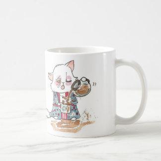 Zombi del café taza clásica