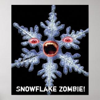 ¡Zombi del copo de nieve! Poster