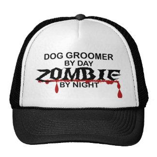 Zombi del Groomer del perro Gorros Bordados