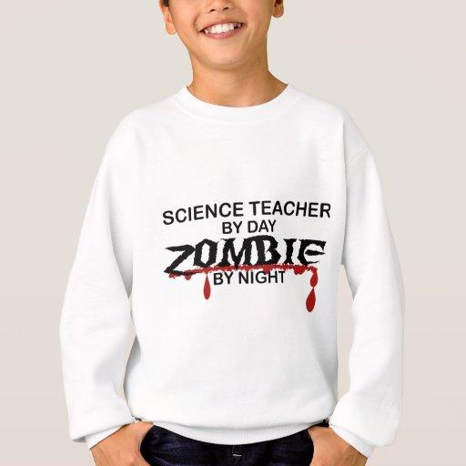 Zombi del profesor de ciencias sudadera