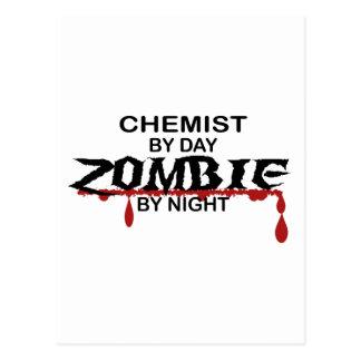 Zombi del químico tarjeta postal