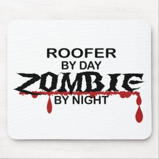 Zombi del Roofer Alfombrilla De Raton