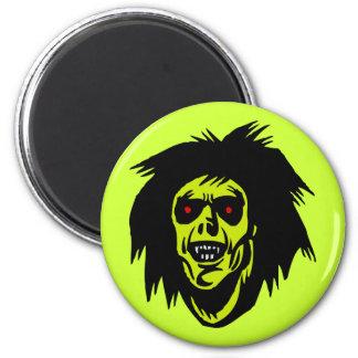 zombi del vampiro imán redondo 5 cm