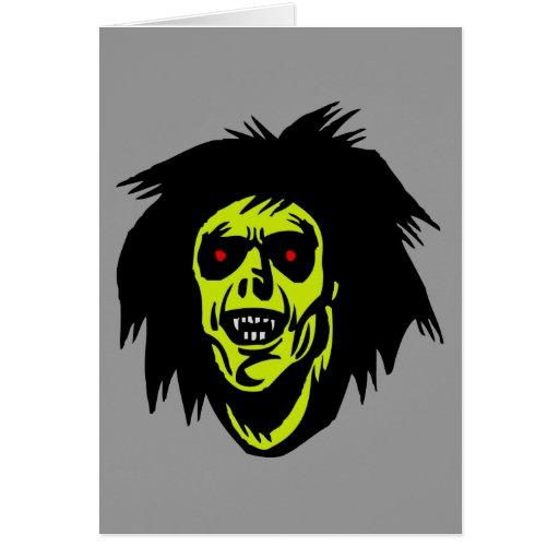 zombi del vampiro tarjetas
