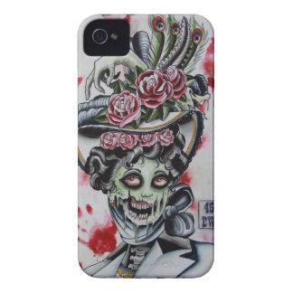 """zombi del victorian 1"" Case-Mate iPhone 4 carcasa"