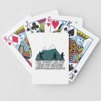 Zombi divertido barajas de cartas