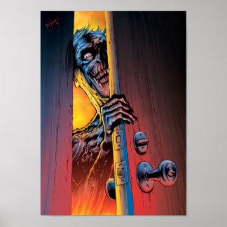 Zombi en su puerta póster