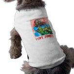 ¡Zombi fresco! Desgaste canino Camisa De Perrito