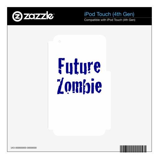 Zombi futuro iPod touch 4G skin