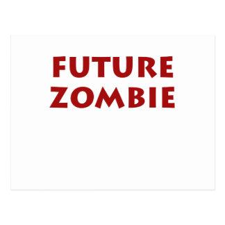 Zombi futuro postales