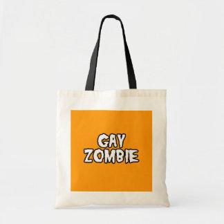 ZOMBI GAY - Halloween - .png Bolsas Lienzo