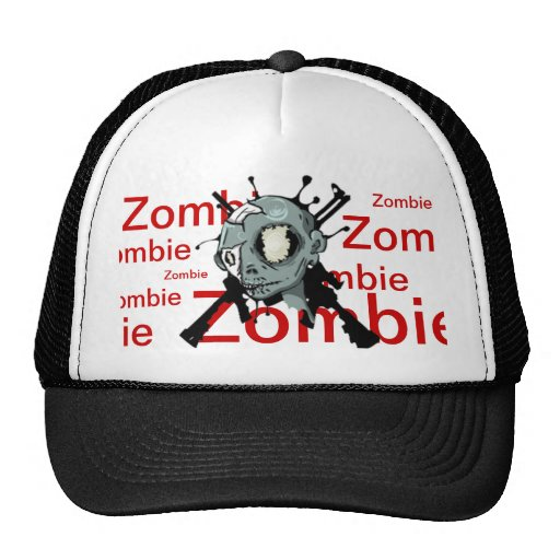 Zombi Gorros Bordados