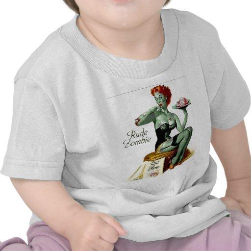 """Zombi grosero """"la primera mordedura """" camiseta"""