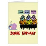 Zombi Halloween Felicitaciones