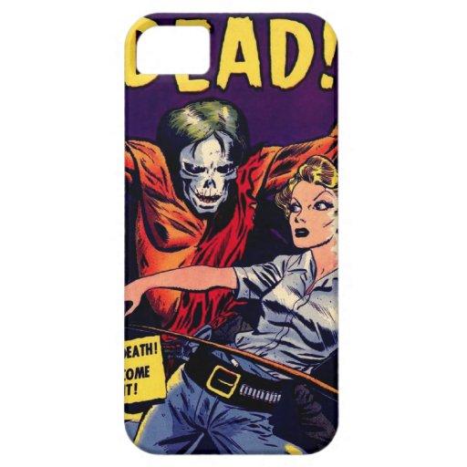 Zombi - horror del vintage cómico iPhone 5 Case-Mate carcasa