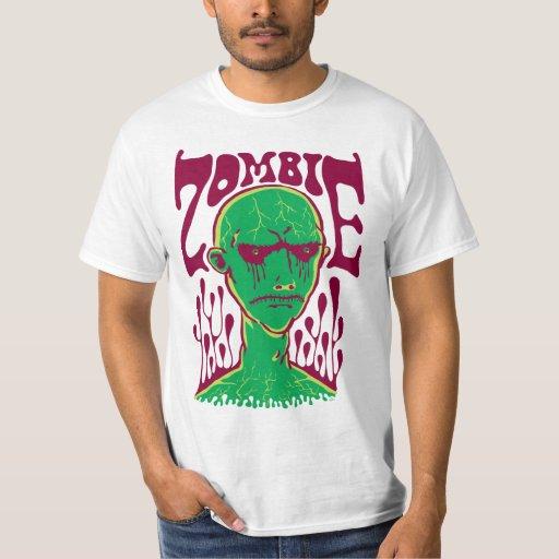 Zombi-Hundido (verde del gas del pantano) Playera