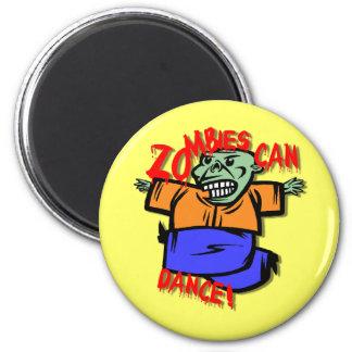 zombi imán redondo 5 cm