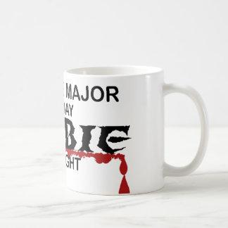 Zombi importante de la ciencia taza de café