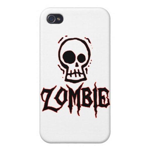 Zombi iPhone 4/4S Carcasas