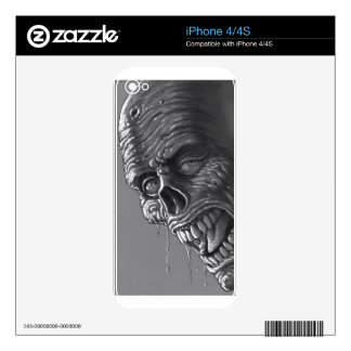 zombi iPhone 4S skins
