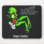 Zombi Mousepad del vegano Alfombrilla De Ratón